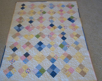 Four Patch Crib Quilt