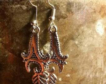 65%OFF SALE Arrow Dangle  Earrings .925 Sterling Silver