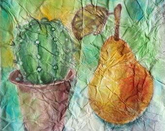 Watecolor Painting, Original Painting, Watercolor Art