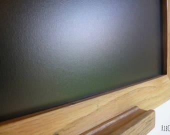 Extra Large blackboard / chalkboard - Handmade. Vintage reclaimed American Oak.