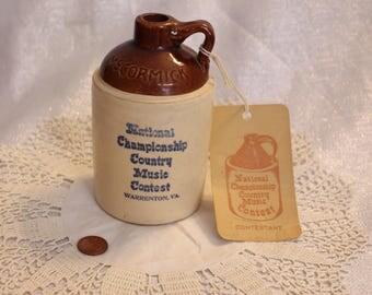 Vintage McCormick National Championship Country Music Contest Contestant #1 Warrenton, VA