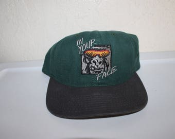Vintage 90's In Your Face Gorilla Snapback by Lifeforms
