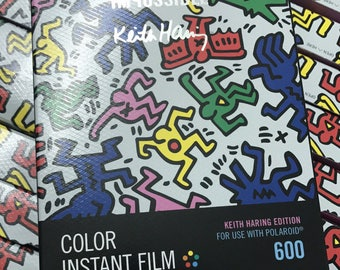 The Impossible Project Keith Haring Edition 600 color film for Polaroid 600 I-1 Cameras colour film