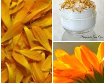 Calendula Whipped Skin Wash - Organic, Calendula officinalis, anti-inflammatory, anti-septic, and astringent properties