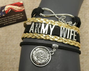 army wife - for army - for soldier - army gift - military gift - deployment - gift for wife - usa - united states army - wife of soldier