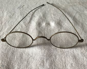 Antique Eyeglasses 1860-65 Wire rim eyeware