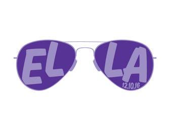 Sunglasses Bat Mitzvah Logo