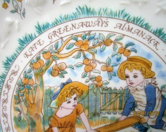 Kate Greenaway Libra Plate. Royal Doulton 1977