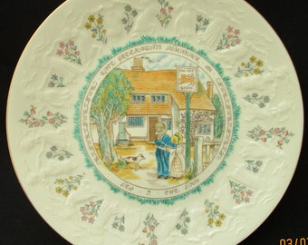 Kate Greenaway Leo Plate. Royal Doulton 1977