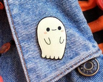 Glow in the Dark Ghostie Pin