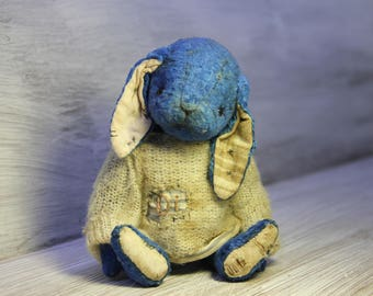 """ooak artist teddy rabbit """"Di""""  -------- sold out ------------"""