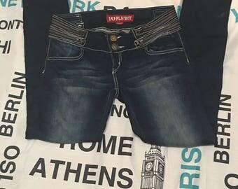 Vintage Playboy blue jeans