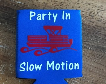 Party in slow motion can cooler | pontoon can cooler | bachelor party can cooler