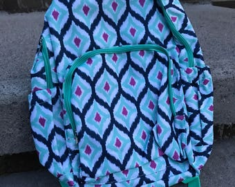 Monogrammed Backpack, Personalized Backpack for girls, Back to School