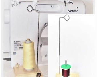 Thread Spool Holder, Wood stand, Sewing Thread, Sewing accessories, Sewing supplies, Thread dispenser