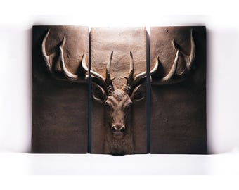 Stag Wall Plaque