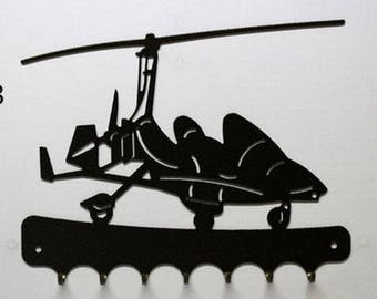 Hangs 26 cm pattern metal keys: autogyro M22 Ma