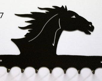 Hangs 26 cm pattern metal keys: horse head
