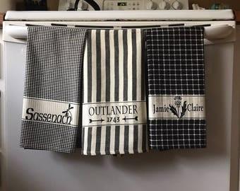 Decorative Outlander Towels