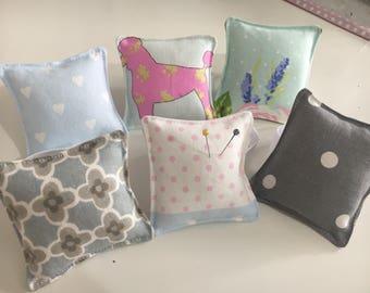 Handmade Wrist Pin Cushions / Pin Cushion / Shabby Chic