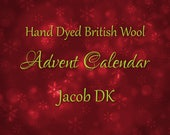 Yarn Advent Calendar - Hand Dyed British Wool Jacob DK