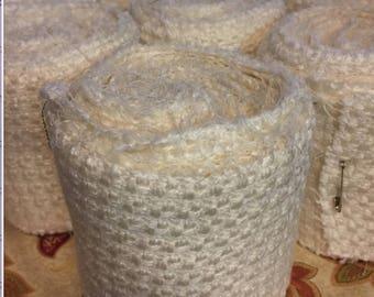 Winingas - Viking - Norse - Anglo-Saxon Leg Wraps white (winter white) wool