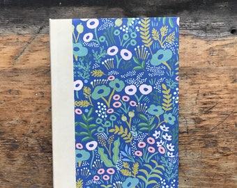 Tapestry flower Address book, medium