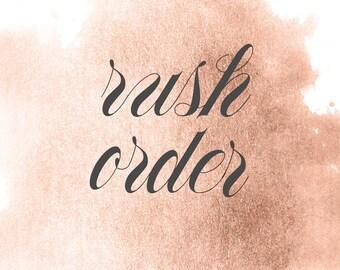 Rush Order UPS