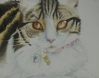 Custom Pet Portrait, A5, Watercolour