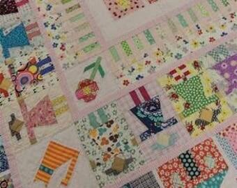 Girl Next Door pattern by Jen Kingwell Design