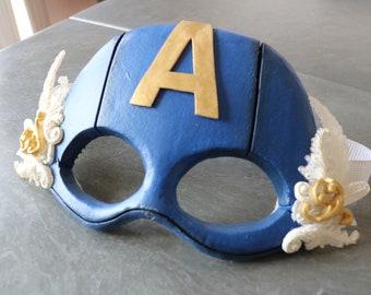 Superhero Burlesque Mask