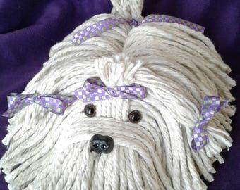 Mop Puppy Dog - Havanese - Shih Tzu - Maltese - Lhasa Apso - Bichon - Schnauzer - Coton De Tulear - Westie - Highland Terrier - Lowchen