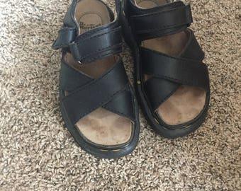 vintage Doc Marten black sandals