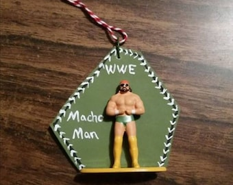 WWE Wrestling Ornament