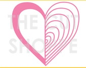 The Heart and Soul cut file can be used for your scrapbooking and papercrafting projects.