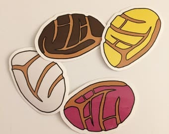 Pan Dulce Stickers