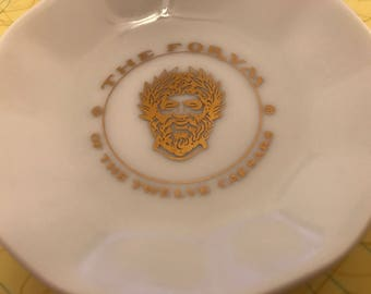 The Forvm of The Twelve Caesars Restaurant Ashtray Vintage Ashtrays Collectible Dishes Vintage Restaurant Souvenirs The Forvm Of 12 Caesars