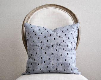 Halloween Pillow Cover | Witch Pillow Cover | Halloween Throw Pillow | Halloween Decor | Witches Pattern Pillow | Zipper Pillow Cover