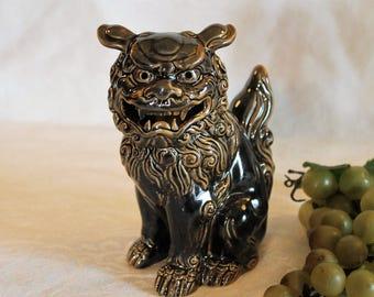 "Vintage Otagiri Mercantile Company OMC 6.25"" Foo Dog Lion Figurine"