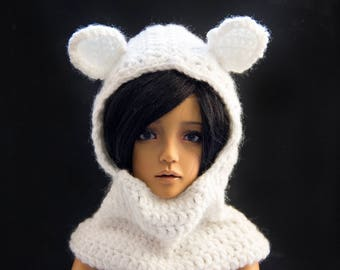 BJD MSD Hat-  BJD clothes Narae