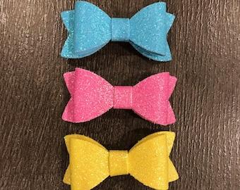 Glitter Pastel Bow