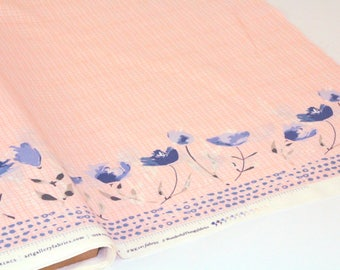 Fabric Art Gallery - Garden Walk Thistle - Quilting Cotton poplin UK Seller
