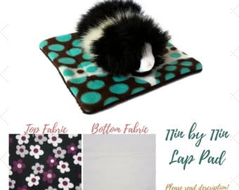 Small Animal - Lap Pad - Cage Liner - Guinea Pig Lap Pad - Hedgehog Cage Liner - Absorbent Pet Pad - Pet Carrier Liner - Rabbit - Chinchilla