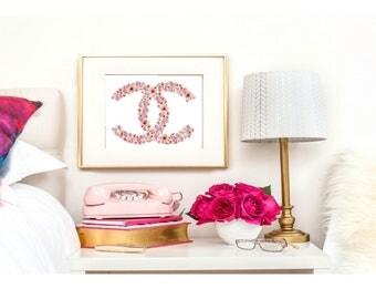 Wall Art Print of Icon Chanel  A4 glossy - unframed - original digital design