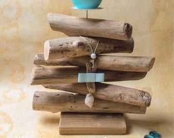 The Corinne workshop Driftwood candle holder