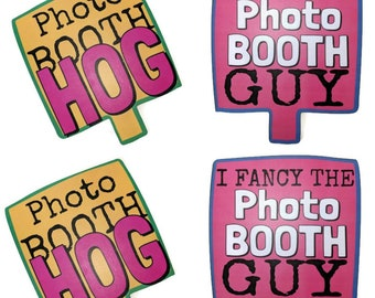 Luxury Photo Booth Prop Double sided Photo Booth Hog, I Fancy the photo booth guy 013-791