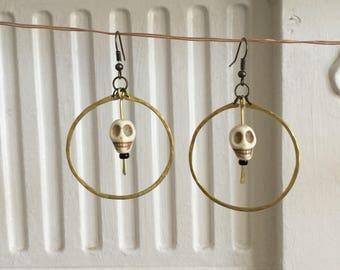 Skully Earrings
