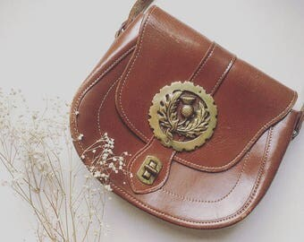 Nutshell Vintage Boho Scottish Thistle Bag