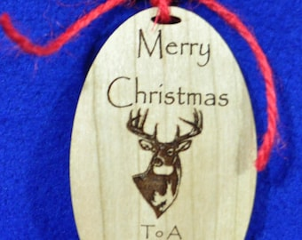 Christmas Gift For Husband ~ Deer Hunter Gift ~ Christmas Ornament ~ Christmas Gifts For Hunter ~ Deer Hunting ~ Deer ~ Deer Decor ~ Hunting