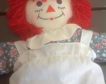 Raggedy Ann Doll 17 inches Tall